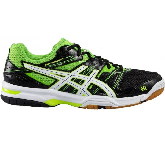 asics gel rocket 7 zwart