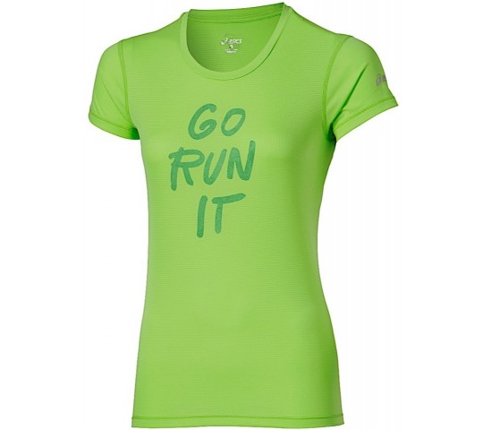 Asics Graphic SS Top GRI Dames