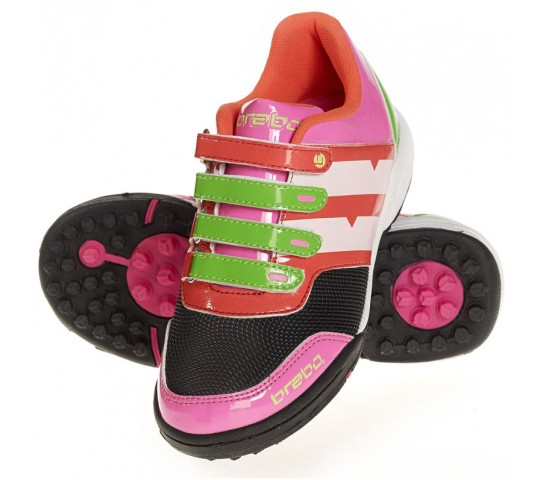 Brabo Velcro Hockey Shoe Kids