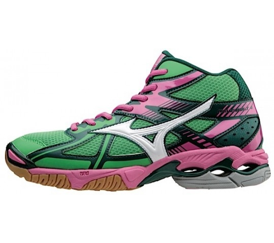 Mizuno Wave Bolt 4 Mid Women