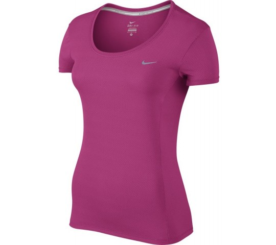 Nike Dri-Fit Contour SS Shirt Dames