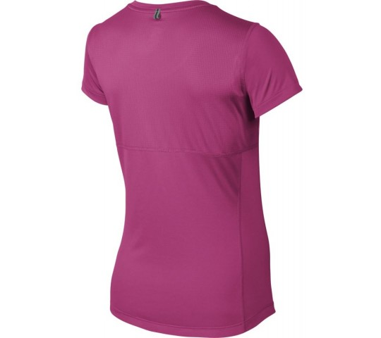 Nike Miler V-Neck Shirt Dames