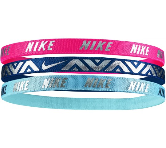 Nike Metallic Hairbands 3-pack Girls