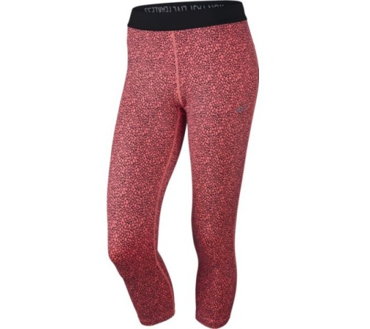 Nike Printed Relay Crop Tight Ladies