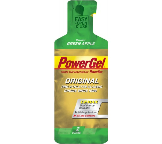 PowerBar Gel Caffeine Green Apple 1x41g