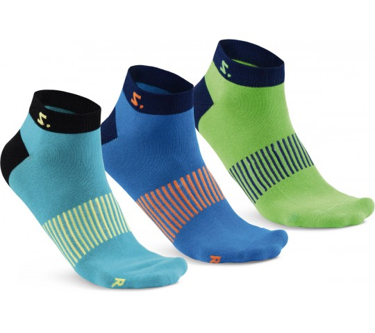 Salming Run Ankle Sok 3-pack