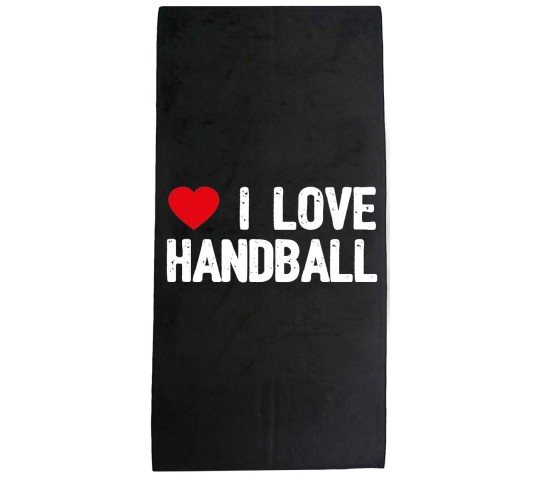 I Love Handball Handdoek