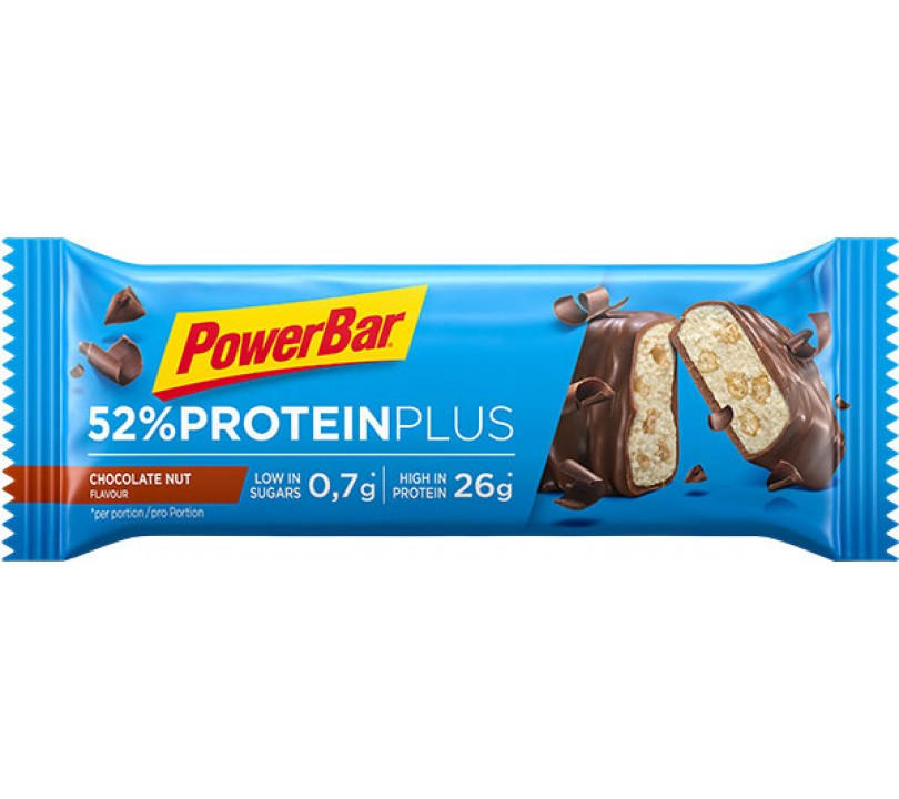 PowerBar Plus 52% Chocolate Nut 1x50g