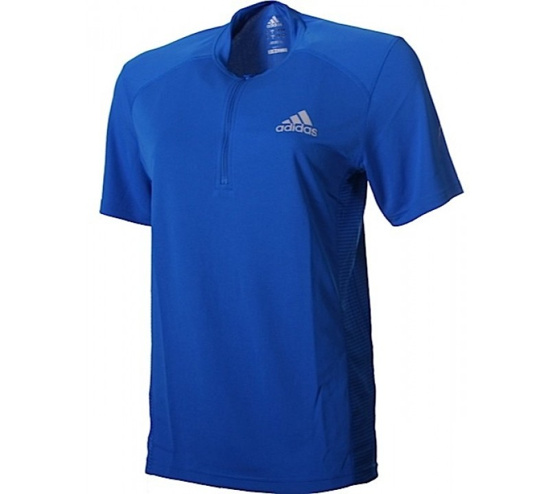adidas Sequentials 1/2 Zip Tee