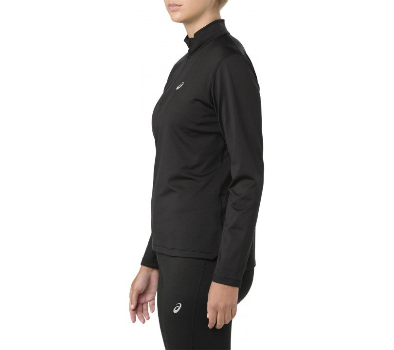 Asics Silver Winter Half-Zip Women
