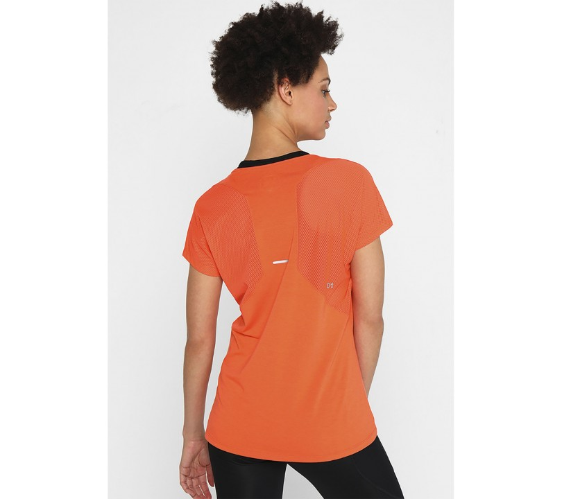 Asics V-Neck SS Top Women