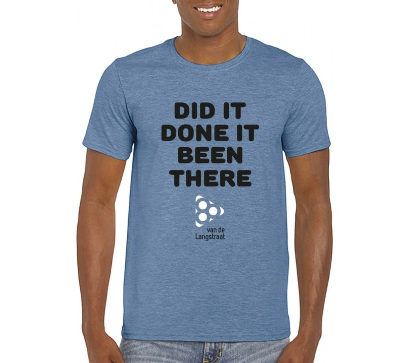 80 van de Langstraat Shirt ''Did it''