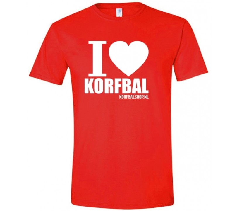 I Love Korfbal Shirt