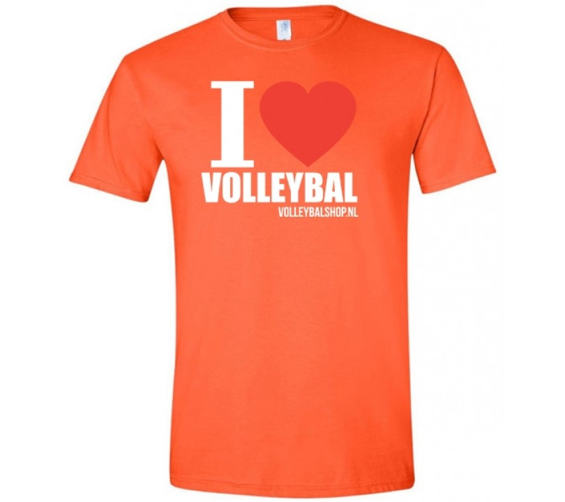 I Love Volleybal Shirt