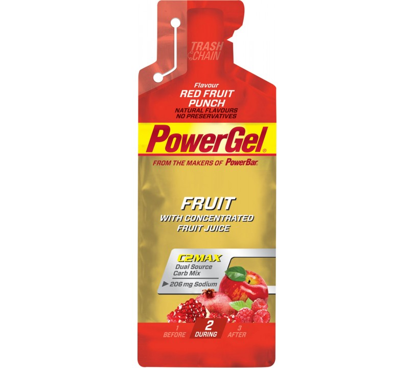 PowerBar Gel Red Fruit Punch 1x41g