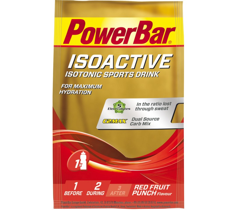 PowerBar IsoActive Red Fruit Punch 1x33g