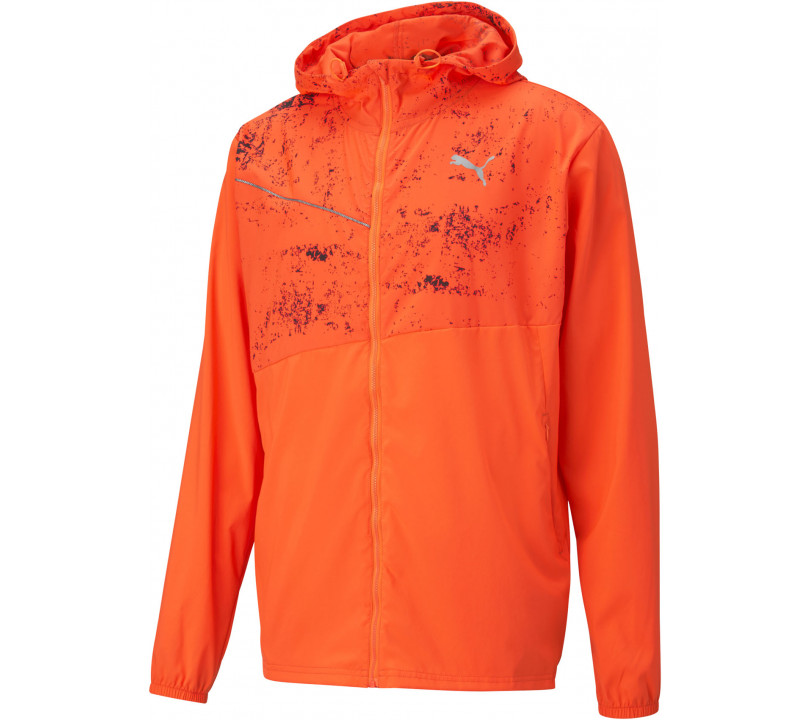 Puma Run Graphic Hooded Jacket Men
