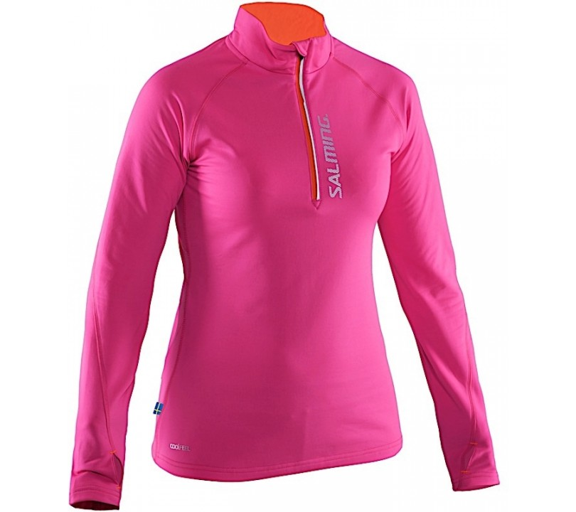 Salming Run Halfzip LS Dames