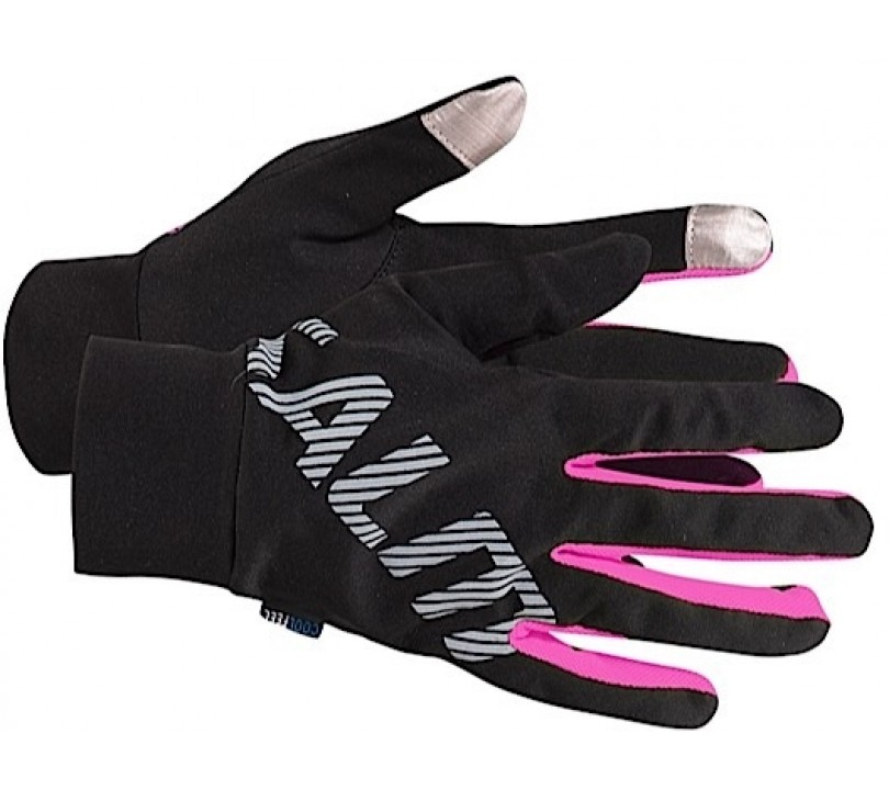Salming Running Gloves Pink