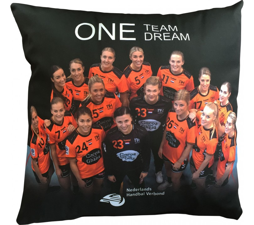 NL Team One Team One Dream Kussen