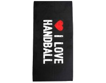 I Love Handball Handtuch 2018