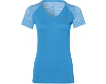 Asics fuzeX V-Neck SS Top Dames