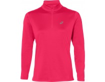 ASICS Silver LS Half-Zip Top Women