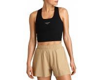 BJORNBORG Night Rib Crop Tank Women