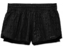 Brooks Circuit 3'' 2in1 Short Dames