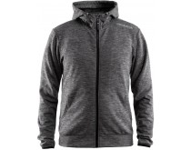 Craft Leisure Fleece Zip Hoodie Men