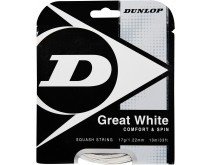 Dunlop Great White Squashsnaar 17 Gauge