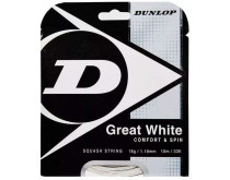 Dunlop Great White Squashsnaar 18 Gauge
