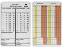 Erima Match memo cards Handball
