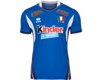 Italiaans Heren Volleybalteam Thuisshirt
