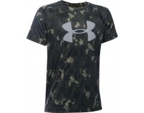 Under Armour Junior SS Big Logo Camo