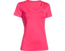 Under Armour SS Tech V-Neck Dames
