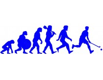 Hockeyshop Evolution Muursticker
