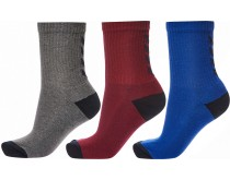 Hummel Reflector Fundamental 3-Pack Sock