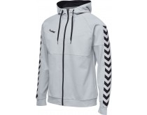 Hummel Court Cotton Zip Hoodie Men