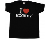 I Love Hockey Shirt Boys