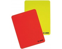 Jako card set red-yellow