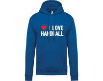 I Love Handball Sweater Damen