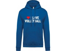 I Love Volleyball Sweater Women