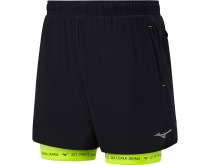 Mizuno Mujin 2in1 Short 7,5'' Heren
