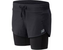 New Balance Impact 2in1 Short Women
