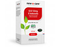 New Care Q10 50mg & Kokosolie 60 stuks
