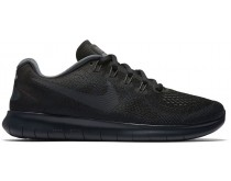 nike free run zwart heren