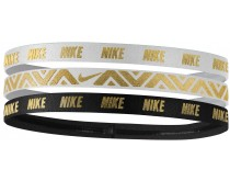 Nike Metallic Hairband 3-pack