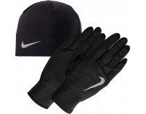 Nike Run Dry Hat Glove Set