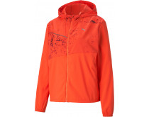 Puma Run Graphic Hooded Jacket Women